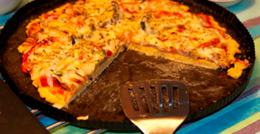 Pizza De Harina De Garbanzos Fainalindfainalind