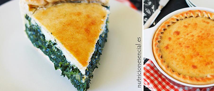 Torta pascualina vegana